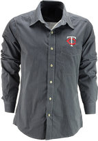Antigua Men's Long-Sleeve Minnesota Twins Button-Down Shirt