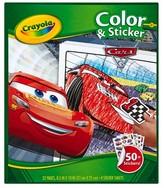 Crayola Color & Sticker - Cars