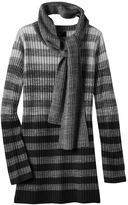 It's Our Time Girls 7-16 Marled Ombre Sweater Tunic with Scarf
