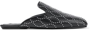 Alexander Wang Jaelle Studded Leather Slippers