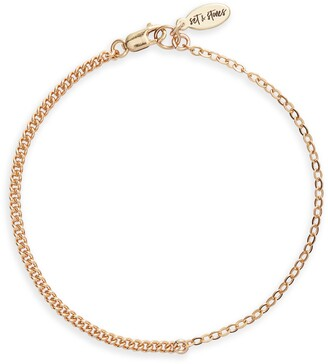 Set & Stones Jane Chain Link Braccelet