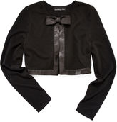 JCPenney Disorderly Kids Long-Sleeve Satin-Trim Cardigan - Girls 7-16