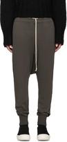 Rick Owens Grey Prisoner Lounge Pants