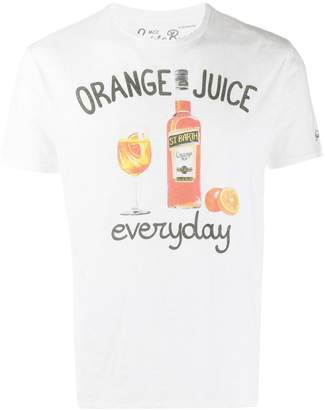 MC2 Saint Barth orange everyday T-shirt