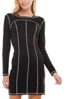 Thumbnail for your product : Ultra Flirt Juniors' Long-Sleeve Bodycon Dress