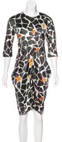 Zero Maria Cornejo Printed Silk Dress