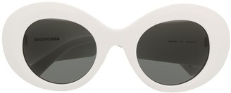 Balenciaga Eyewear Round-Frame Sunglasses