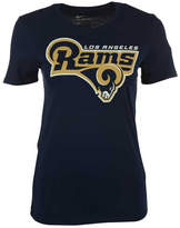 Nike Women's Los Angeles Rams Lock Up Crew T-Shirt