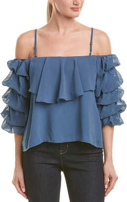 Lucca Couture Tiered Top
