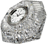 Waterford Crystal Lismore Diamond-Shaped Clock