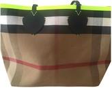 Burberry The Giant Multicolour Leather Handbags
