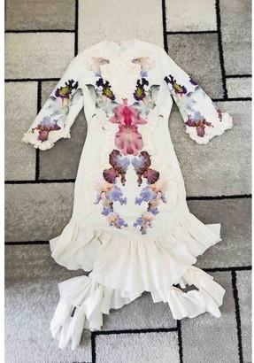 Francesco Scognamiglio White Dress for Women