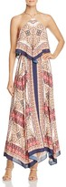 Laundry by Shelli Segal Tiered Printed Dress