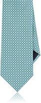 Giorgio Armani Men's Square-&-Dot-Patterned Silk Necktie