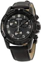 Wenger 66846 Stainless Steel & Leather Quartz 43mm Mens Watch