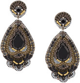 Ranjana Khan embellished pear drop earrings