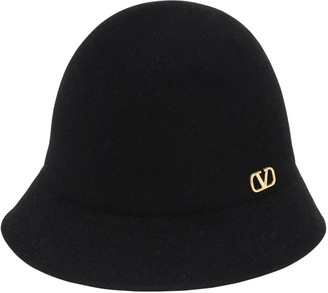 Valentino Rabbit Felted Bucket Hat