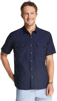 G.H. Bass Men's Fisherman's Short Sleeve Button Down Shirt