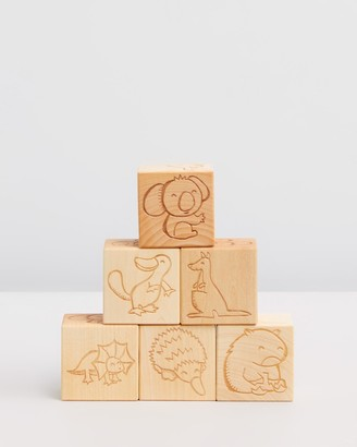 Noc Noc Australian Animals Wooden Blocks