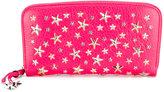Jimmy Choo star studded zip wallet
