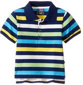 Toobydoo Multi Stripe Short Sleeve Polo (Infant/Toddler/Little Kids/Big Kids)