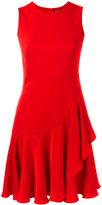 Alexander McQueen ruffled mini dress - women - Viscose/Silk - 42