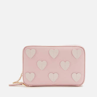 Lulu Guinness Women's Medium Hearts Lydia Cross Body