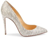 Christian Louboutin Pigalle Follies 100 Printed Leather Pumps