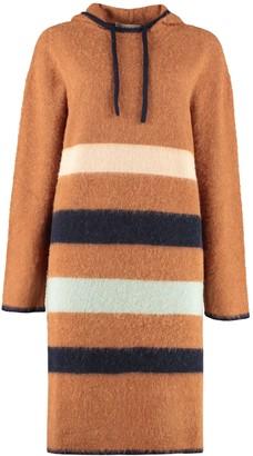 Lanvin Hooded Sweater Dress