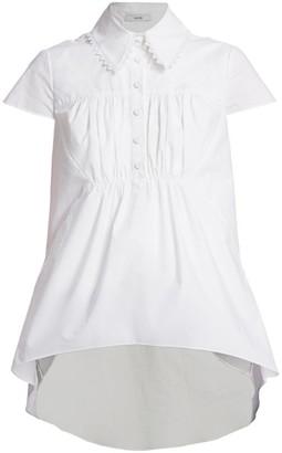 Erdem Clovelly Cotton Poplin Shirt