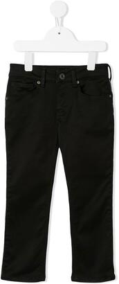 Emporio Armani Kids Straight-Leg Jeans