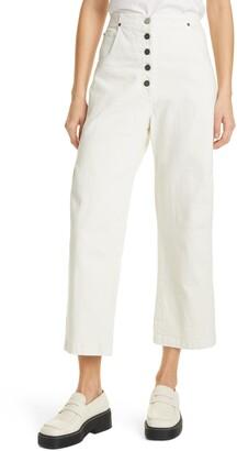 Rachel Comey Elkin High Waist Crop Trousers
