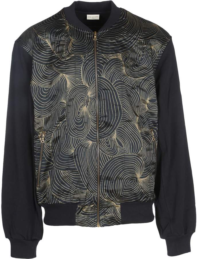 Dries Van Noten Bomber Pritn