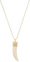 House Of Harlow Horns of Catoblepas Pendant Necklace