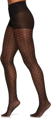 Berkshire Women's Trend Two Tone Sheer Control Top Pantyhose