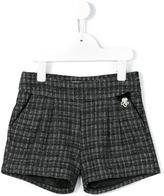 Tartine et Chocolat tweed shorts