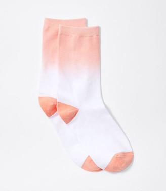 LOFT Ombre Crew Socks