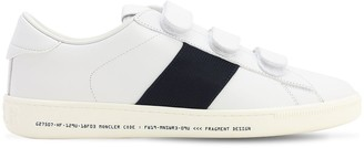 MONCLER GENIUS Fragment Franz Leather Sneakers