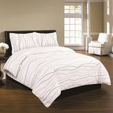 Tribeca Dot Living Flannel Dot 3-pc. Duvet Cover Set