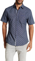 Smash Wear Short Sleeve Paisley Woven Shirt