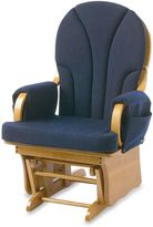 Foundations® LullabyTM Adult Glider in Natural/Navy Blue