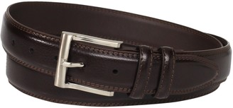 Florsheim Men's Big-Tall Pebble Grain Leather Belt 32MM