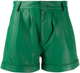 FEDERICA TOSI High-Waisted Pleated Shorts