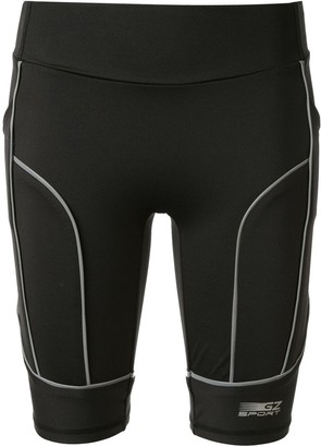 Ground Zero Reflective Sporty Panel Shorts
