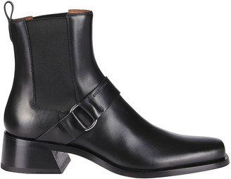 Givenchy Black Leather Austin Chelsea Boots