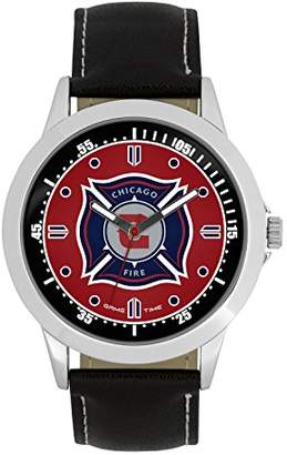 Game Time MLS Chicago Fire Mens Player Series Wrist Watch