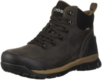 Bogs Men's Foundation Leather Mid Soft Toe Waterproof Industrial Work Boot