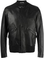 Oamc classic bomber jacket - men - Calf Leather/Polyamide/Spandex/Elastane/Viscose - M