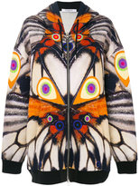 Givenchy wings print hoodie - women - Spandex/Elastane/Viscose - XS
