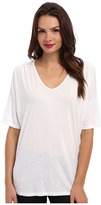 Michael Stars Elbow Sleeve Relaxed V-neck